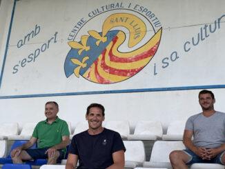 Javier Zurbano-Nou entrenador CCE Sant Lluís femení