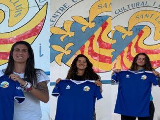 Zaira, Laura, Mireia-CCE Sant Lluís femení