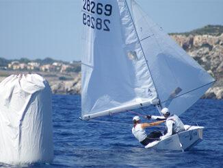 Damián Borrás-Sara Franceschi campeones Balears Snipe