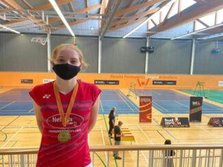 Laura Anglada-oro en el Master Nacional sub 15
