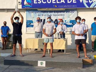 Pere Ponseti-campeón de España Sub21 Láser Estándar