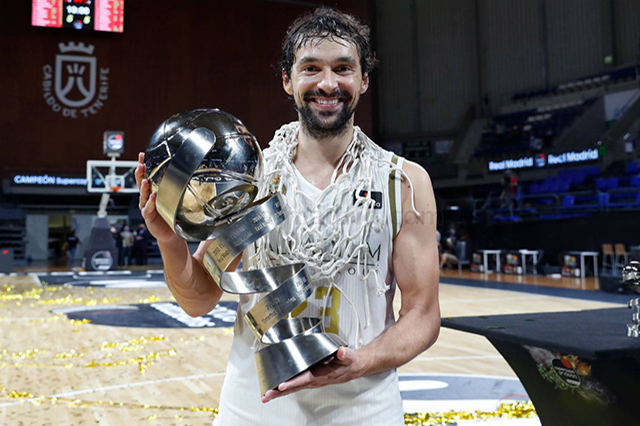 Sergio Llull -campeon Supercopa 2020