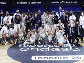 Sergio Llull -campeon Supercopa 2020