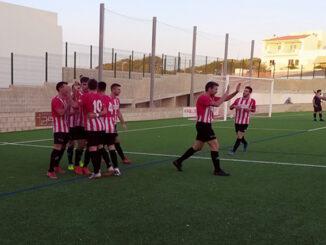 CE Mercadal-celebración gol