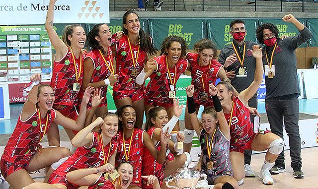 Supercopa Volei - Avarca de Menorca campió