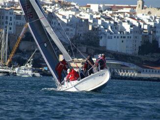 El Alba III durante la regata