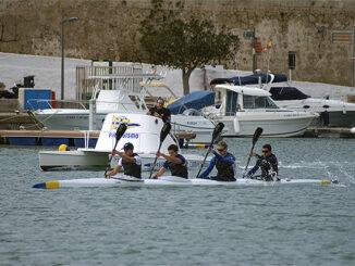 Kayak Exhibicion K4 senior