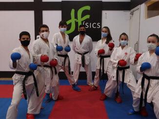 karatekas del Shotokan Ciutadella- Físics