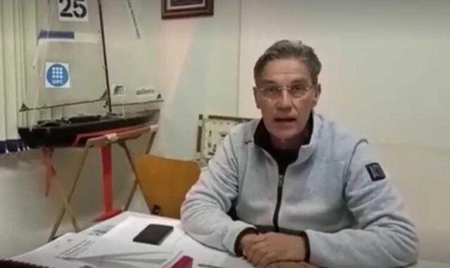 Toni Mascaró, màxim responsable de sa vela lleugera d'Es Nàutic