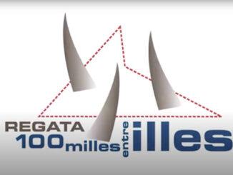 Cartel Regata 100 Milles entre Illes