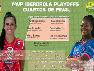 Maria Barrasa-MVP play off Liga Iberdrola volei