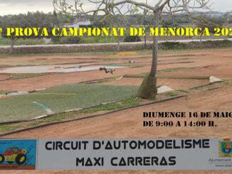 Cartel Carrera Automodelisme 2021