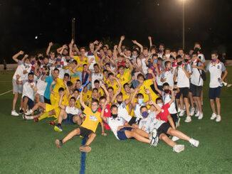 Futbol juvenil Sant Lluís-Ferreries Celebración