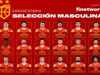 Selección Española Basquet