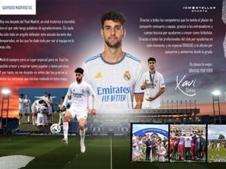 Despedida Xavi Sintes-Real Madrid juv