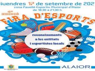 Alaior acollirà aquest divendres sa 4a Fira d'Esports