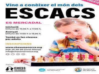 Clases Menorca d'Escacs