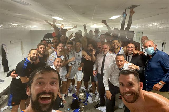 Selfie Llull Supercopa 2021