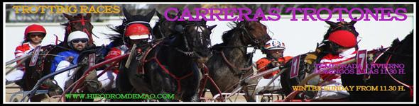 Cabecera Carreras Trot