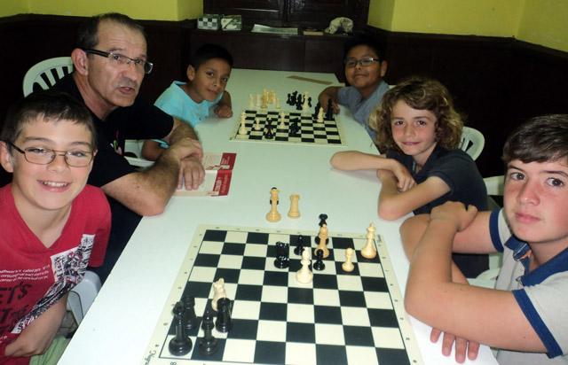 Fiesta fin temporada Escacs Es castell