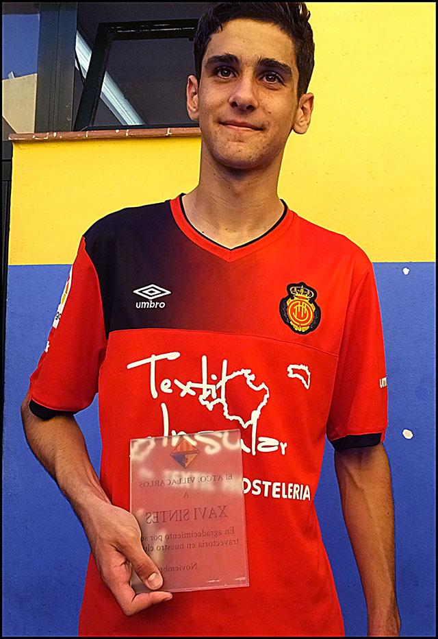 Futbol LNJ 16-17 AtVillacarlos-Mallorca Homenaje Xavier Sintes Egea