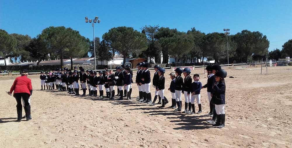 Entrega trofeos-Entrega trofeos Doma Clasica escolar