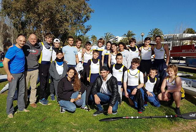 Palistas CMM en Campeonato Baleares piragüa