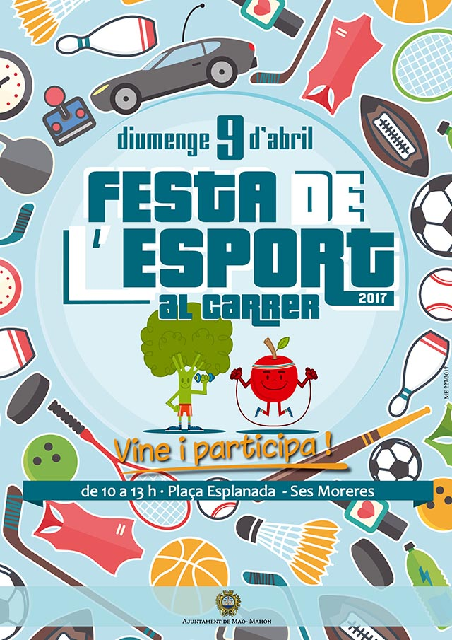 Cartell Festa Esport 2017