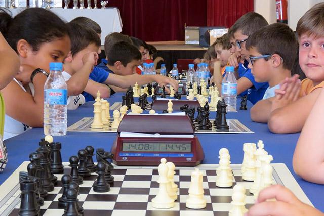 61 Concentració de ajedrez