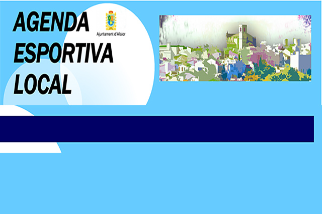 Caratula AGENDA ESPORTIVA d'ALÔ 2017-2018