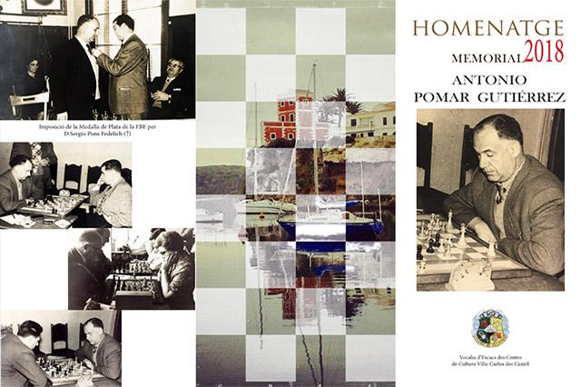 Cartel Homenatge Escacs