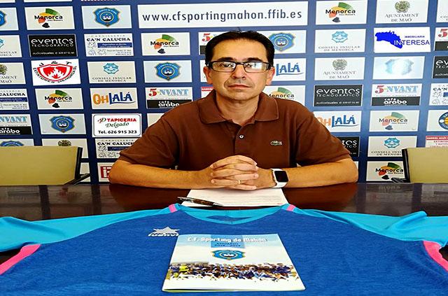 Manel Rojo, candidato Presidente Sporting de Mahón