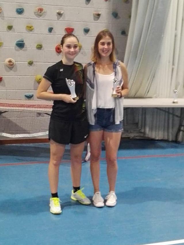 Open Festes de Maó de bádminton-Mar Casasnovas campiona Julia Pons segona Individual femení