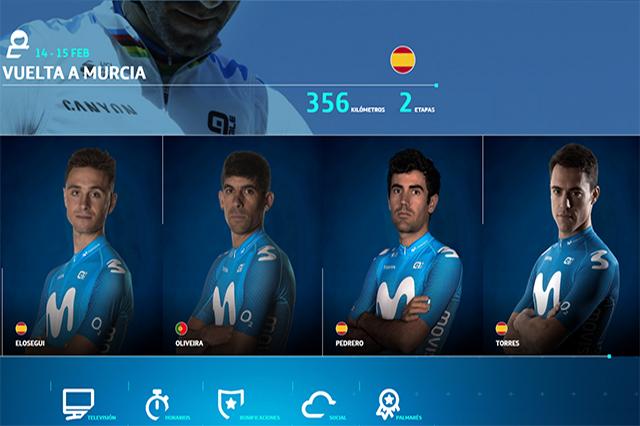 Albert Torres - Movistar Team volta a Murcia