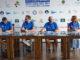 Barcos Época -Nacho Marra-López, Héctor Pons, Antonio Hernández y Aurora Alonso, en la presentación de la XVII Copa del Rey de Barcos de Época Repsol