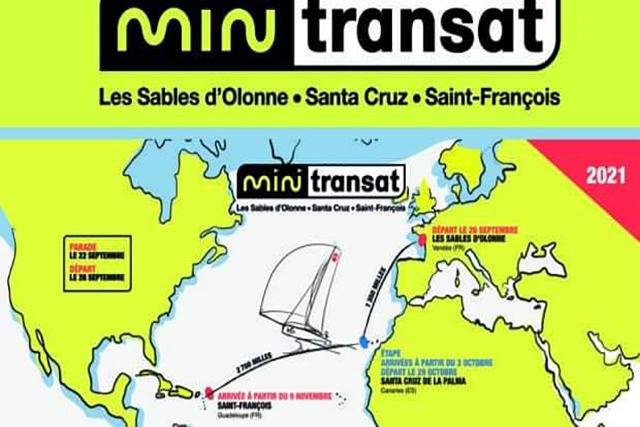 Felip Moll-Recorrido Mini Transat 2021
