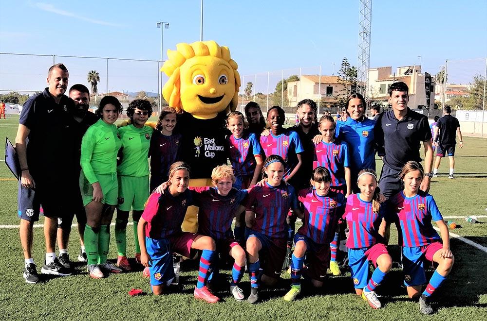 East Mallorca Girls Cup_FC BARCELONA SUB-12
