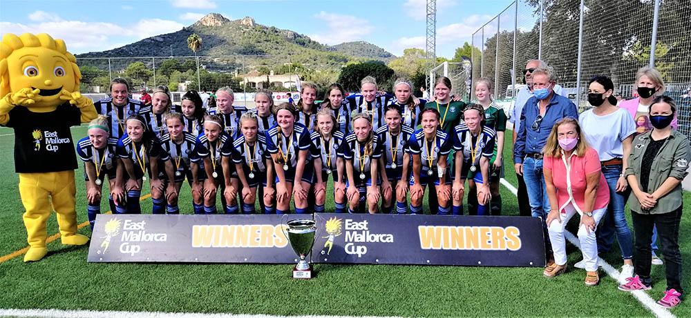 East Mallorca Girls Cup_HJK HELSINKI, CAMPEÓN SUB 16