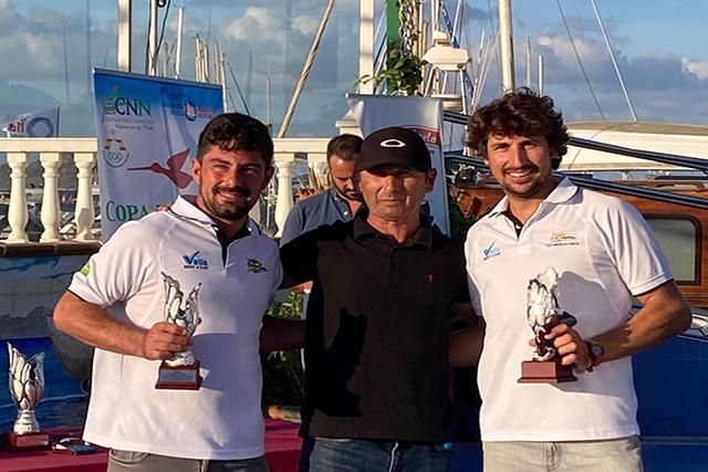 Jordi Triay y Cristian Vidal-Copa de España de Snipe